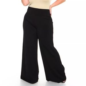 Plus size palazzo pants basic simple